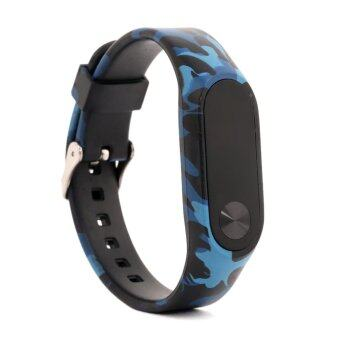 Silicone Replace Bracelet Wristbands Strap for Xiaomi Mi Band2/MiBand 2/Xiaomi Band 2/Mi Band 2 - intl