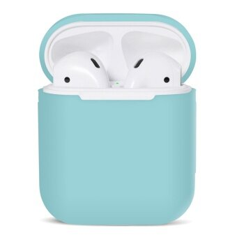 Silicone Shock Proof Protective Case Sleeve Skin Cover for AppleAirPods True Wireless Headphone Charging Box - intl