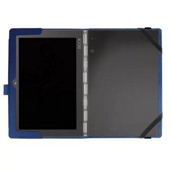 Slim-Book Stand PU Leather Case Cover for Lenovo Yoga Book 10.1(Blue) - intl - 2