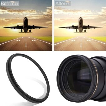 Slim Clear UV Lens Filter Polarizer Lens Kit Protector (46mm) -intl