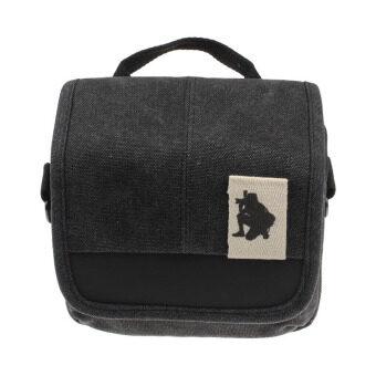SLR Digital Camera Case Shoulder Bag Backpack For Canon For SonyBlack (image 2)