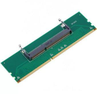 SMAKN® DDR3 Laptop SO-DIMM to Desktop PC DIMM Memory RAM Adapter DDR3 204Pin To 240Pin Lod (Intl)