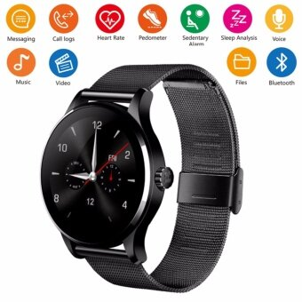 Smart Watch IPS Screen Support Heart Rate Monitor MP3 VideoBluetooth Fitness Tracker SmartWatch K88H For IOS Android Phone -intl