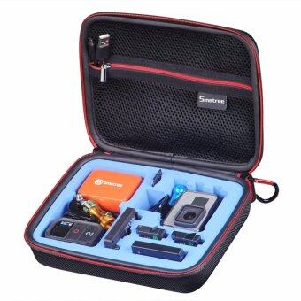 ประกาศขาย Smatree SmaCase G160s Carrying Case for Gopro Hero 54 3+ 3 21(Camera and Accessories NOT included)-(Black&Blue)