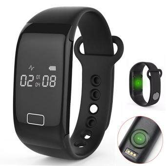 SOBUY Heart Rate Watch With Step Calorie Tracker And Sleep MonitorFor Sports Gym Running Workout