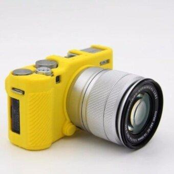 Soft Silicone Camera case Protective Rubber Cover Case Skin For Fujifilm Fuji XM1 X-M1 XA1 X-A1 XA2 X-A2 X-A3Camera bag - intl