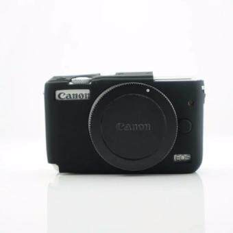 Soft Silicone Gel Rubber Camera Case Cover for Canon EOS M10(Black)- intl