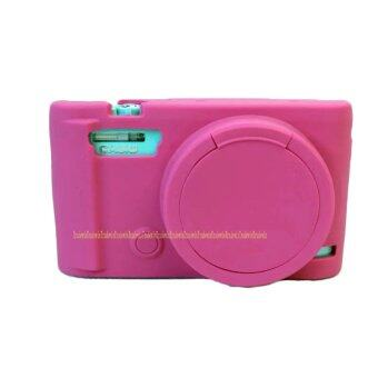 Soft Silicone Rubber Camera Protective Body Cover Case For CasioZR3500 ZR3600 ZR5500 - intl