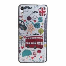 Samsung Galaxy Source Soft TPU 3D Embossed Painting Cover Case For Sony Xperia .