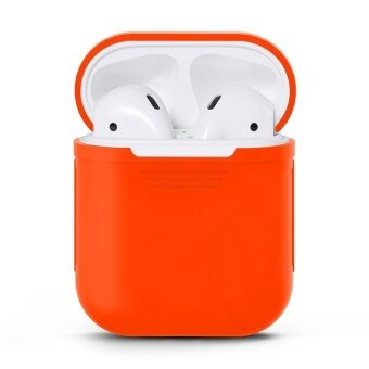 Soft TPU Silicone Case Cover for Apple Airpods Wireless Headset Bags Boxes Sleeve Pouch for Air pods Earphone Charging Case - intl