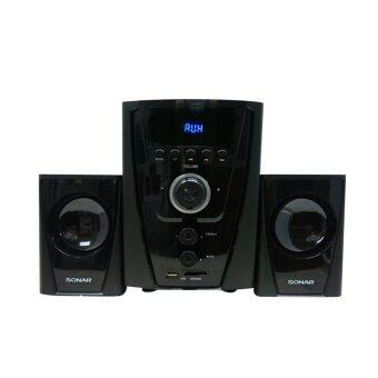 Sonar ชุดลำโพงบลูทูธ Bluetooth Speaker 2.1CH  รุ่น CX-500 ฟังก์ชั่นล้ำสมัย ให้เสียงที่ทรงพลัง