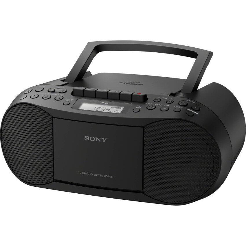 Sony วิทยุเทป-CD ขนาดพกพา รุ่น CFD-S70 ***รับประกันศูนย์ Sony ทั่วประเทศ 1ปี