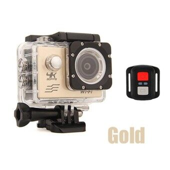 Sport Action Camera 4K WIFI Remote-Control Outdoor Underwater Waterproof Diving Surfing Cycling Helmet Cam Cameras With Accessories - intl