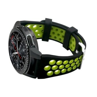 Sports Silicone Wristband Strap Bracelet for Samsung Gear S3 Frontier SM - R760 .