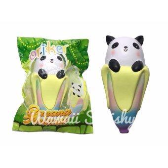 Squishy Banana animal สกุชชี่ กล้วยแพนด้า จาก Oriker