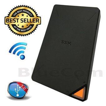 รีวิวพันทิป SSK External Hard Drives Wireless HDD 1TB By SSK (Smart WIFI Storage)