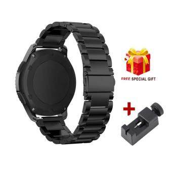 Stainless Steel Metal Strap Link bracelet Watch Band For SamsungGear S3 Classic/frontier with tool - intl
