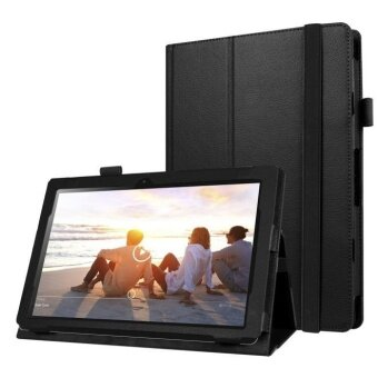 Stand Folio Flip Leather Case Cover for Lenovo MIIX 310 10.1Inch BK- intl