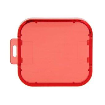Switchable Scuba Diving Lens Filter Kit for GoPro Hero 3+/4 (Red) -intl