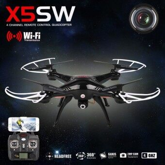 Syma X5SW Wiif FPV Real-time 2.4G QuadCopter (Black)