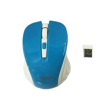 ซื้อ/ขาย เมาส์ไร้สาย TECFON Mouse Wireless - T8 (Blue)