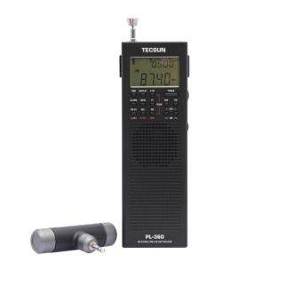 Harga Tecsun PL360 Fm Stereo Portable Fm Radio Built-in Speaker DSP Radio- intl