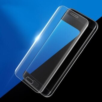 Tempered Glass Film  Ultra Thin Transparent TPU Case For\nSamsung Galaxy S7 Edge - intl