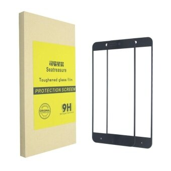 Tempered Glass Screen Protector [2 PACK] for Xiaomi redmi 4xSeatreasure Anti-Explosion Tempered Glass Screen Protector Film forXiaomi redmi 4x Screen protector(black) - intl
