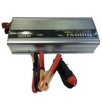 Thaivasion Doxin Power Inverter 1500W 12V DC to 220V AC Output