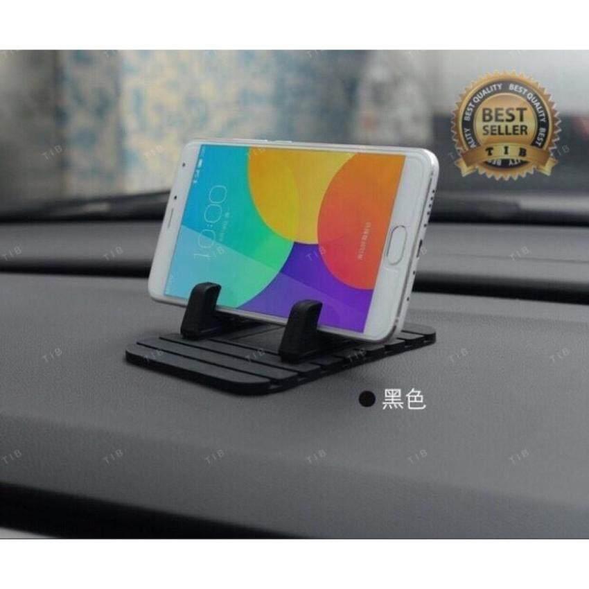 tib ขาตั้ง มือถือไนรถยนต์ car phone holder mobile phone mount holder Silicone antiskid for phone GPS ที่ยึดโทรศัพท์มือถือในรถยนต์