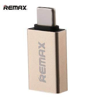 tib REMAX OTG TYPE-C USB Adapter Mini Double-Sided Fast ChargingData Transmission With U-Disk Transfer Type C To USB 2.0/ 3.0 /3.1 Adaptor