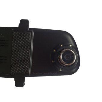 Took-Tee-Sood Black Box Vehicle DVR F8Cกล้องติดรถยนต์แบบกระจกมองหลังพร้อมไฟ car cameras