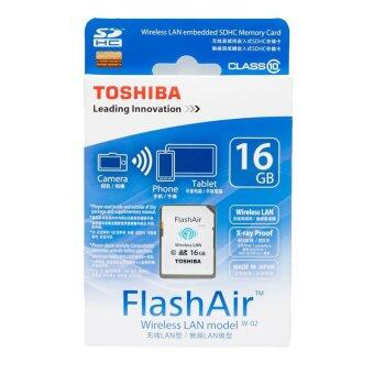 Toshiba 16 GB FlashAir SD wi fi SD card class10