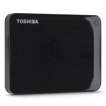 Toshiba 1TB Canvio Connect II Portable HDD - Raven Black สีดำ(TSB-HDTC810AK3A1)