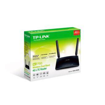Harga TP-LINK Archer MR200 AC750 Wireless Dual Band 3G/4G LTE Router (มีLAN 4 PORT)ขนส่งโดย KERRY EXPRESS