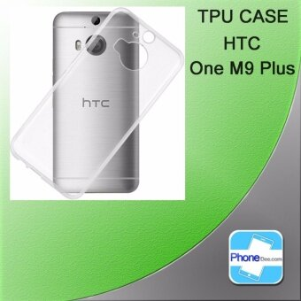 TPU Resin case Htc M9 Plus - Clear