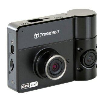 Transcend DrivePro 520 Dual-Lens Car Video Recorder (Free 32GB MicroSD + Suction Mount) - intl