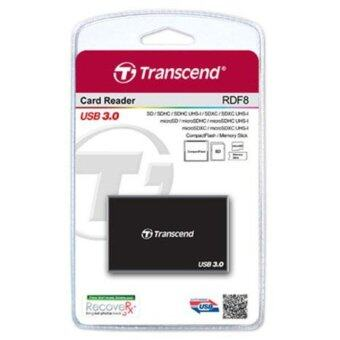 Transcend RDF8 All In One USB3.0 Card Reader (Black)