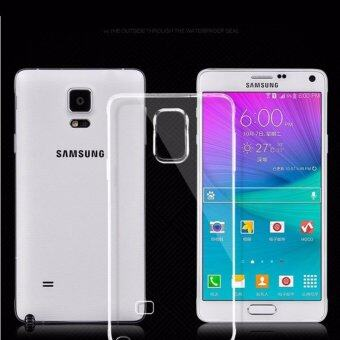 Transparent Clear Soft Silicone TPU Phone Cover Case For SamsungGalaxy Note 4 - intl