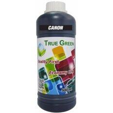 True Green หมึกเติม Canon inkjet Refill 500 ml - Black