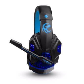 Tsunami Professional Gaming Combo Monster Series Headphones +Keyboard + Mouse 3in1 Kit (Blue/Green) (image 1)
