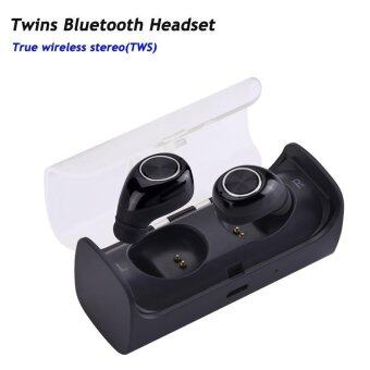 TWS-11 New Mini Invisible Twins True Wireless Bluetooth EarphonesCSR 4.1 Handsfree Earbuds for IPhone 7 Plus,Samsung S6 Xiaomi -intl