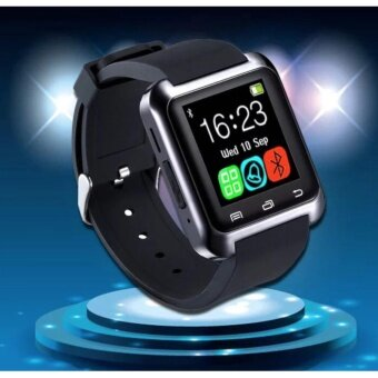U8 Bluetooth Smart Watch รุ่น U8 (Black) แถมฟรี USB