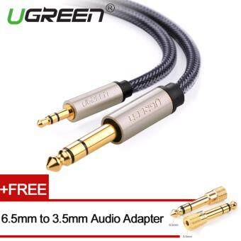UGREEN 3.5mm to 6.5mm Audio Cable Nylon Braided with Audio Adapter- 1m