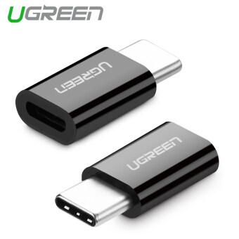 UGREEN USB-C ไมโครยูเอสบีอะแดปเตอร์ให้ (สีดำ)