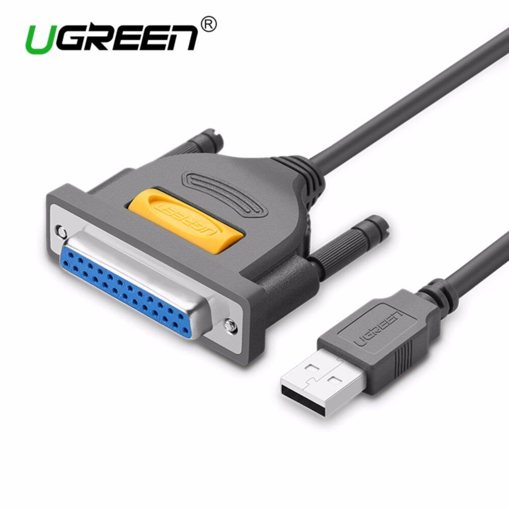 UGREEN USB to DB25 Female Parallel IEEE 1284 Printer Cable AdapterCable Supports Windows .