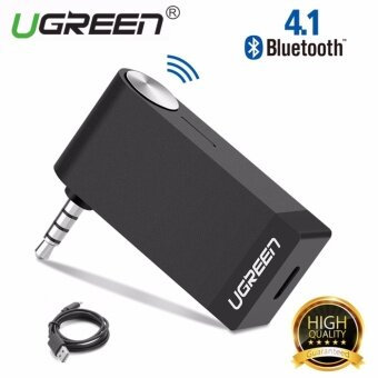 Harga UGREEN V4.1 Wireless Bluetooth Audio Music Receiver without Mic3.5mm Hands-free Function - intl