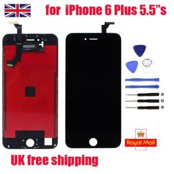 "UK LCD Display Touch Screen Digitizer Assembly for Iphone 6 Plus5.5"" Black - intl"