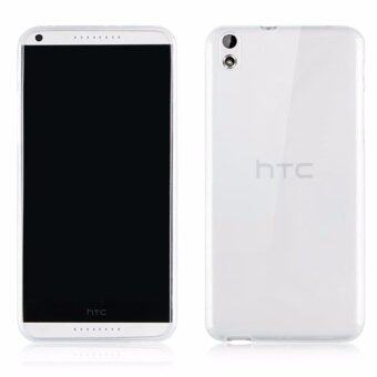 Ultra Thin Crystal Clear Transparent Soft Silicone TPU Phone BackCase For HTC Desire 816 - intl