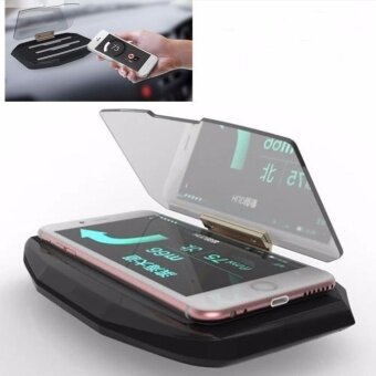 Universal GPS Navigation Through Projection HUD Head Up DisplayPhone Holder - intl